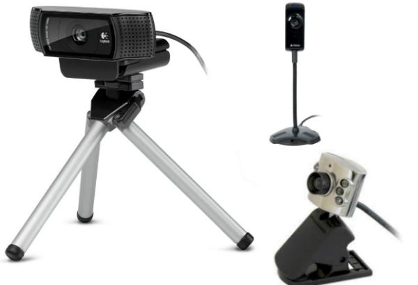 Способы крепления веб камер