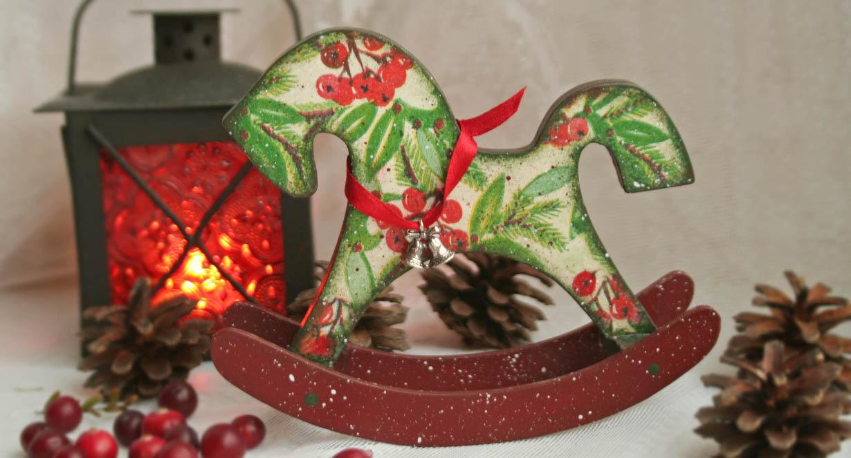 Лошадка сувенир